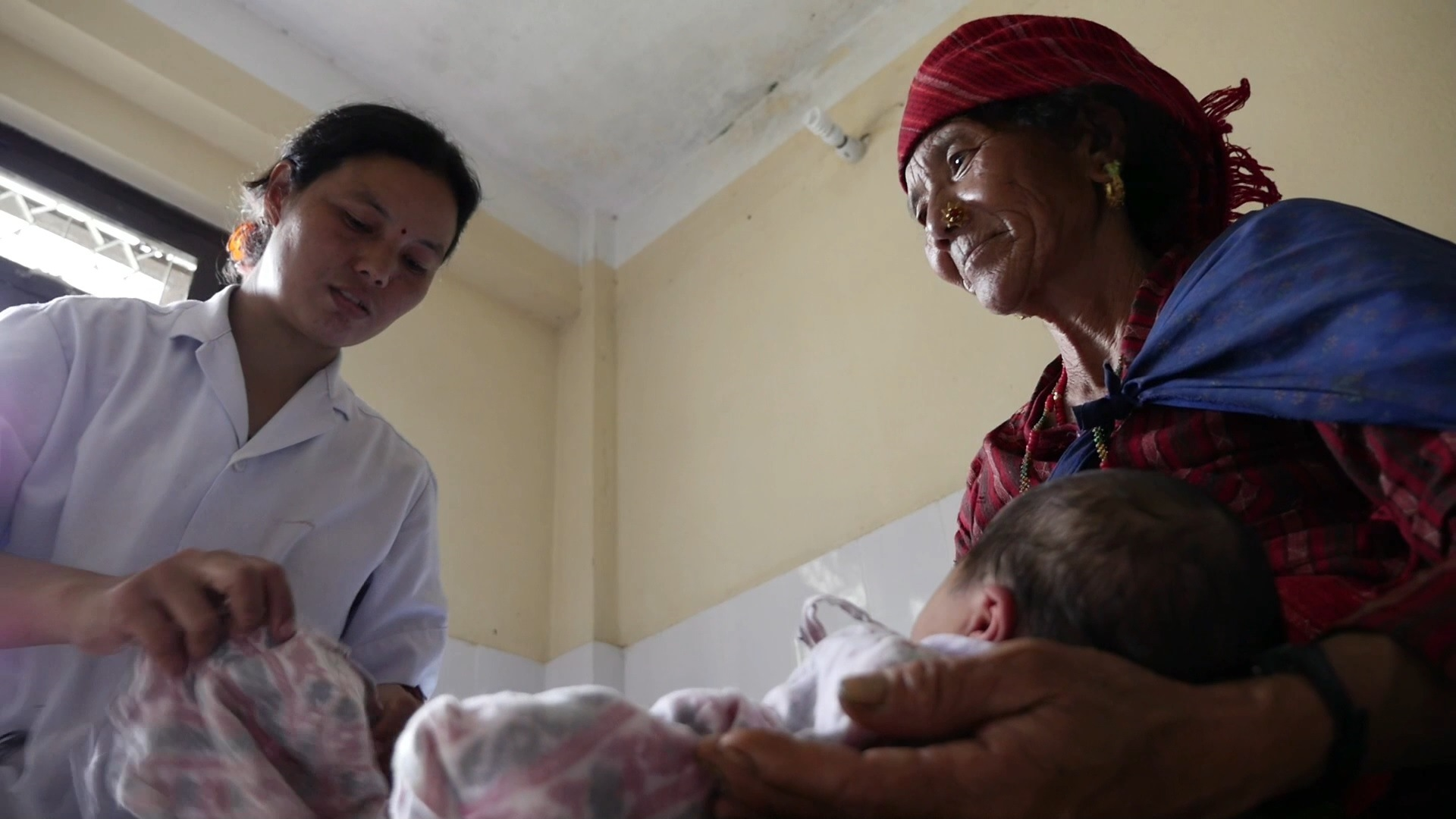 Selected frame from video story NEPAL / MOTHERS AND BIRTHING