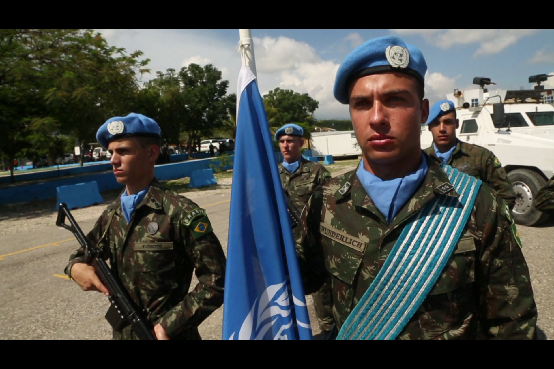 Selected frame from video story VARIOUS / PEACEKEEPERS WRAP