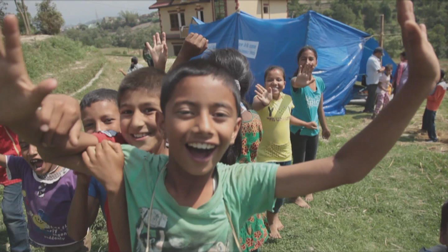 Selected frame from video story NEPAL / SCHOOLS REOPEN