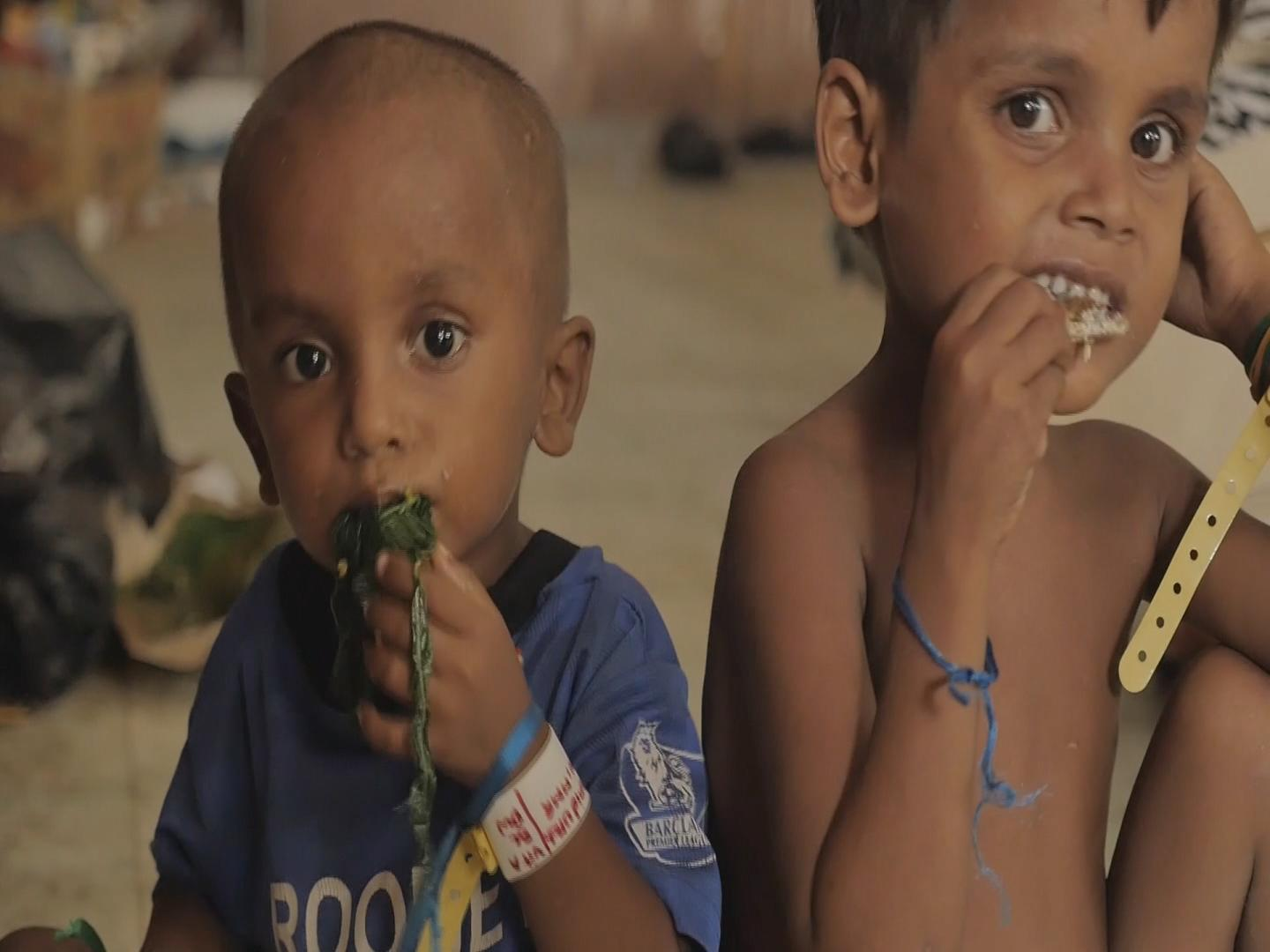 Selected frame from video story INDONESIA / ROHINGYA