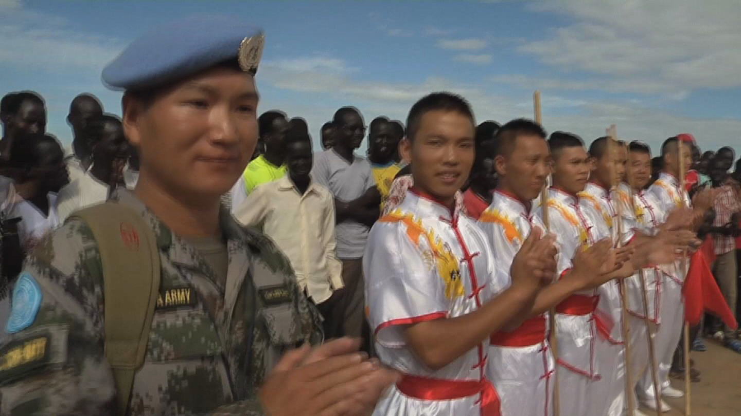 Selected frame from video story S. SUDAN / SPORT FOR PEACE
