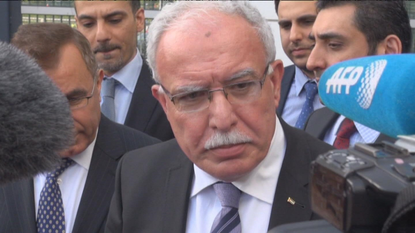 Selected frame from video story HAGUE / ICC PALESTINE