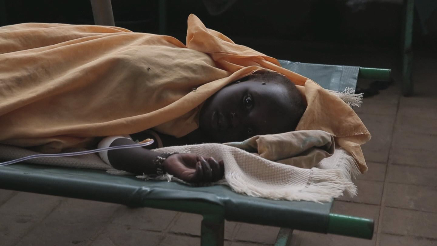 Selected frame from video story SOUTH SUDAN / CHOLERA