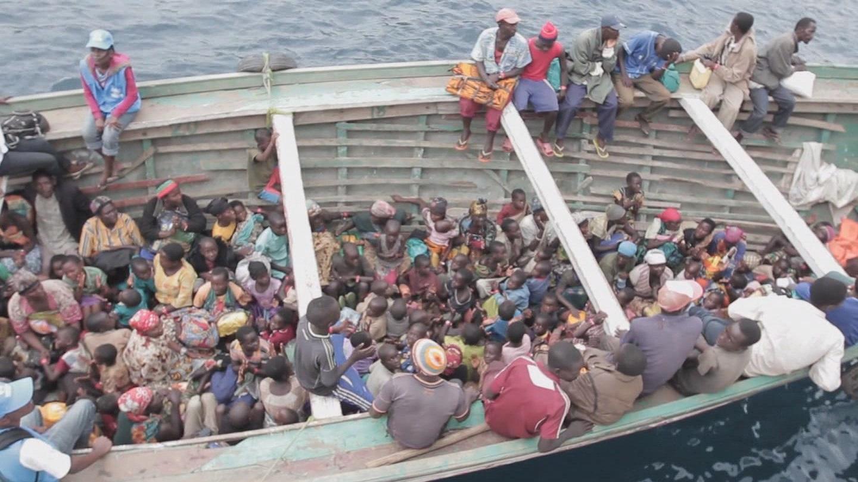 Selected frame from video story GENEVA / BURUNDI REFUGEES
