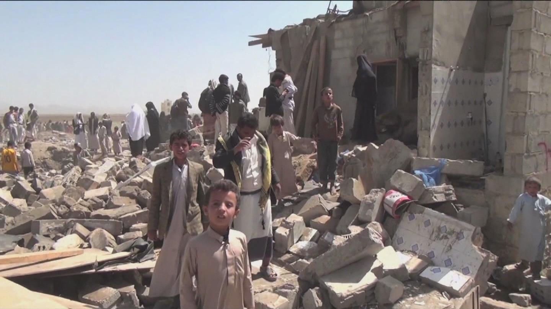 Selected frame from video story YEMEN / CHILDREN AT RISK