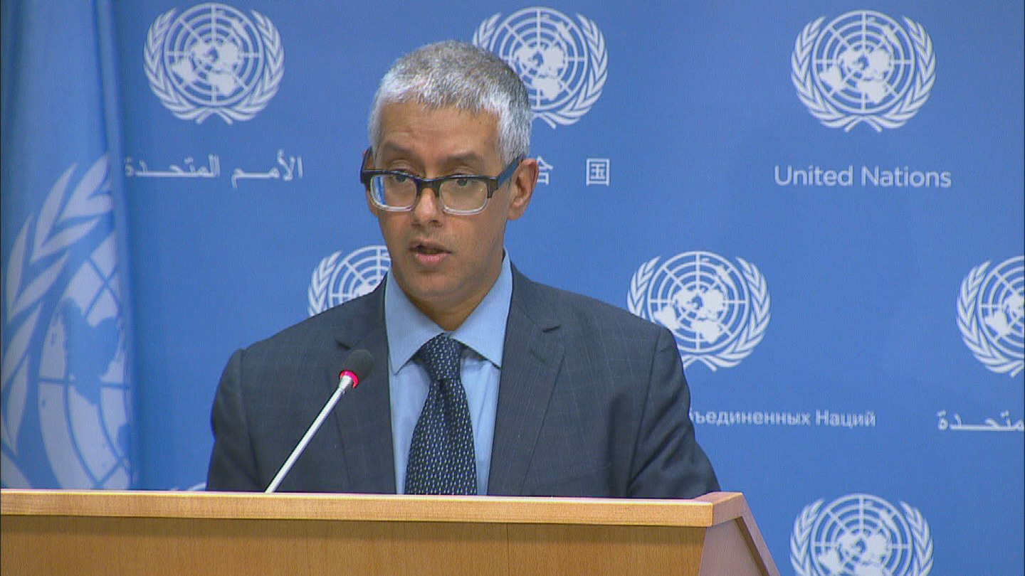 Selected frame from video story UN / GENEVA COMMUNIQUE