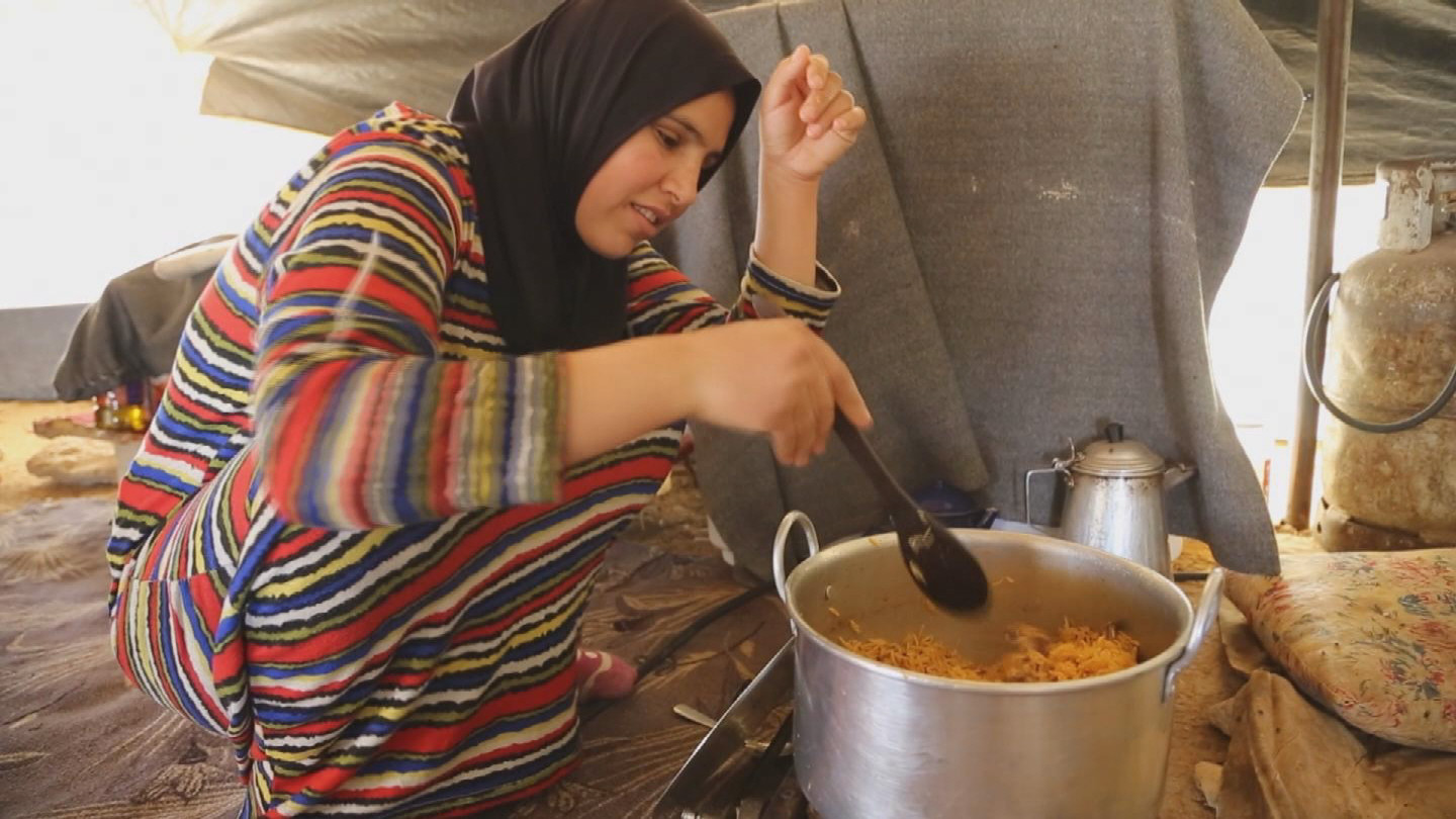 Selected frame from video story WFP / FOOD CUTS