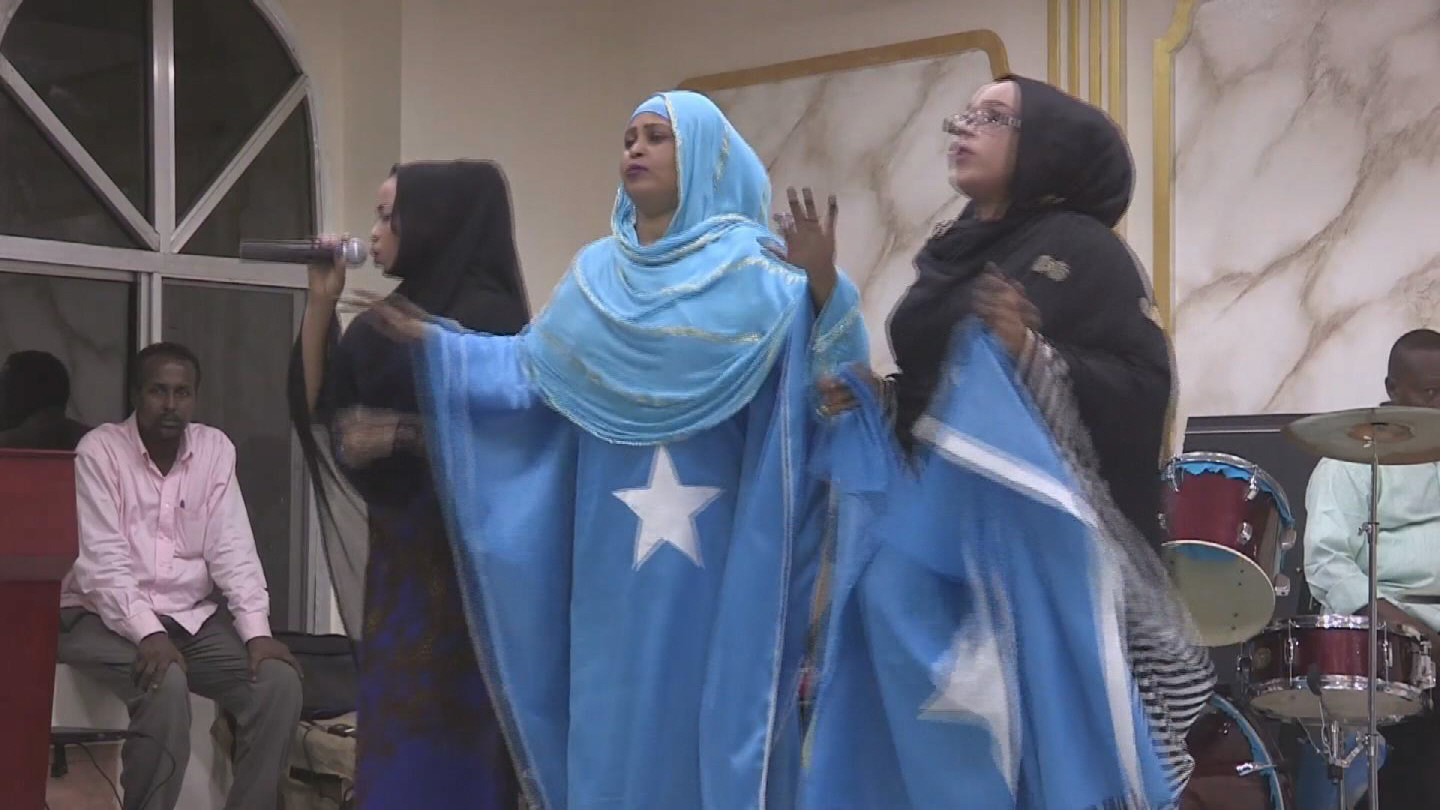 Selected frame from video story SOMALIA / INDEPENDENCE DAY