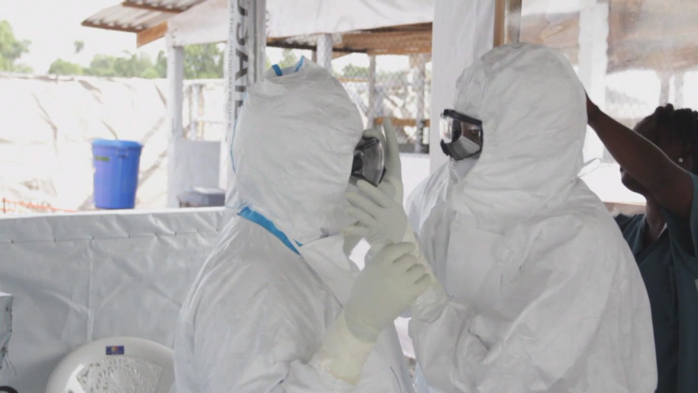 Selected frame from video story UN / LIBERIA EBOLA UPDATE