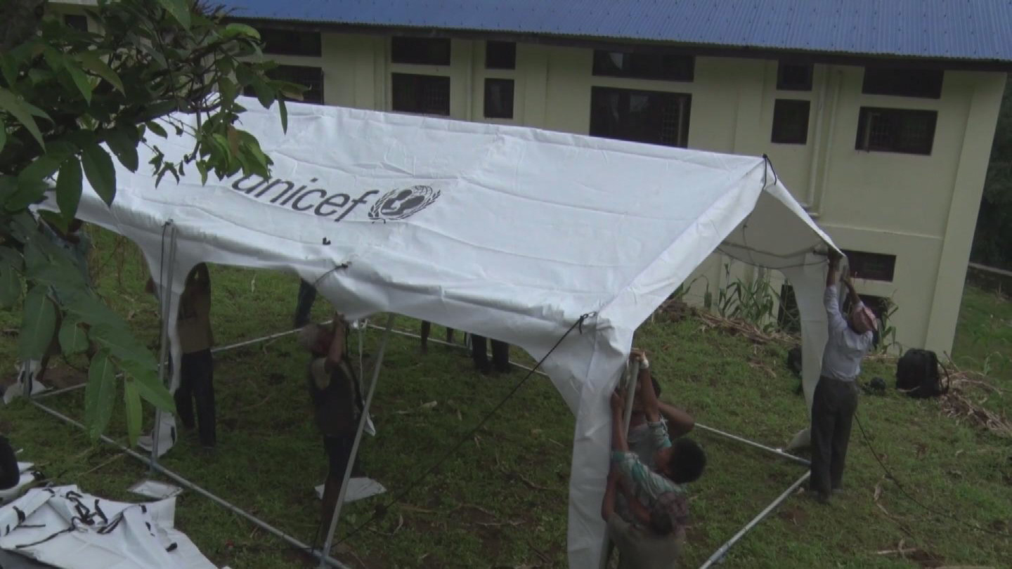 Selected frame from video story NEPAL / EARTHQUAKE TENTS