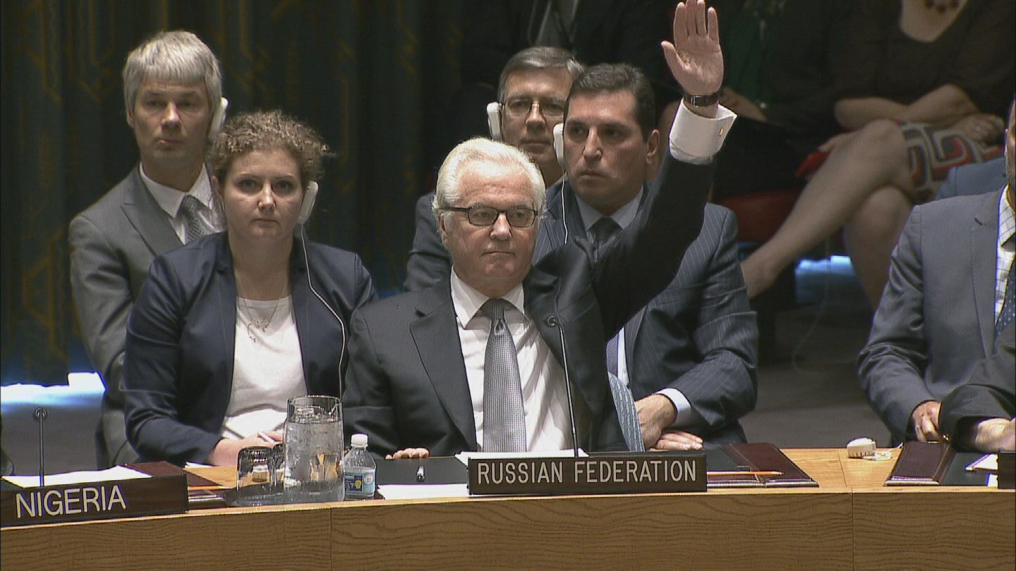 Selected frame from video story UN / MALAYSIA MH17