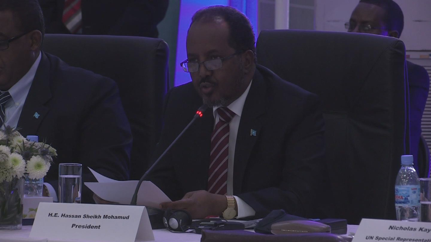 Selected frame from video story SOMALIA / HIGH LEVEL FORUM