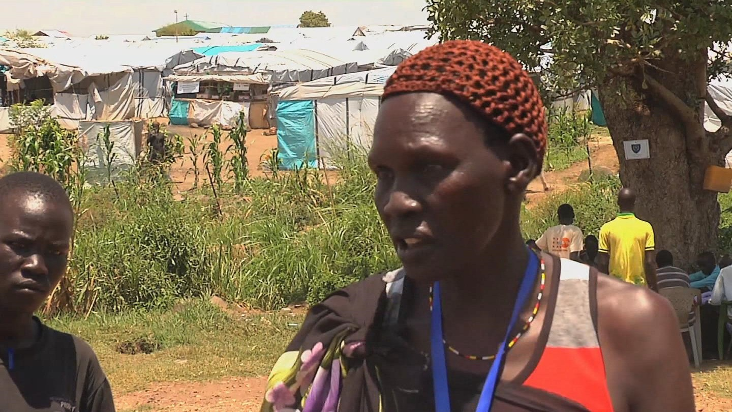 Selected frame from video story SOUTH SUDAN / PEACE DEAL REAX
