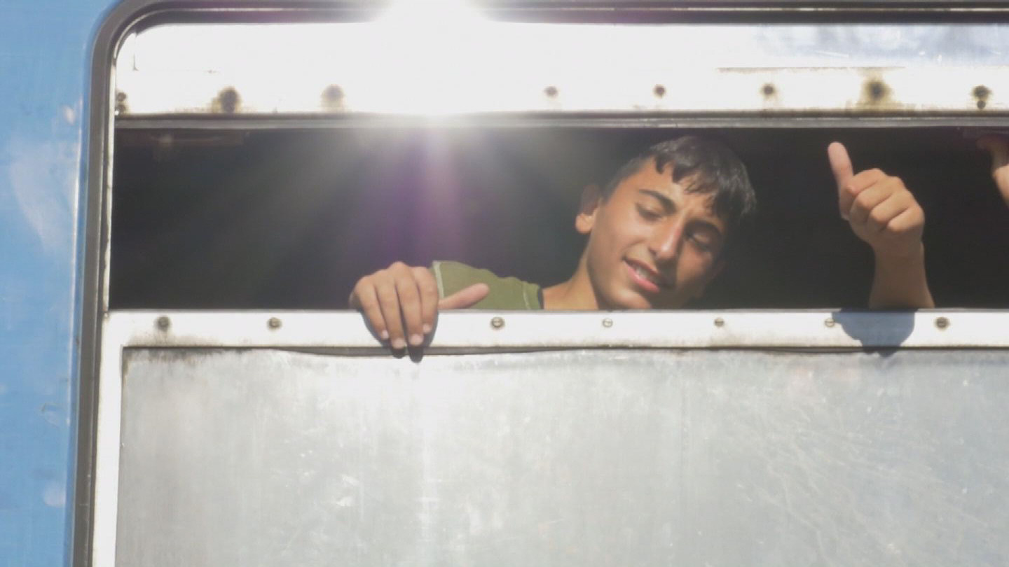 Selected frame from video story GEVGELIJA / REFUGEES CHILDREN