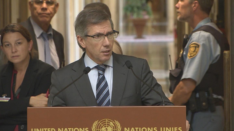 GENEVA  LIBYA PRESS STAKEOUT