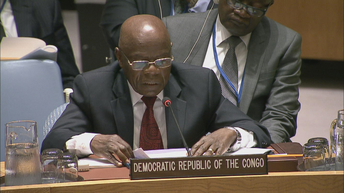 Selected frame from video story UN / DRC KOBLER