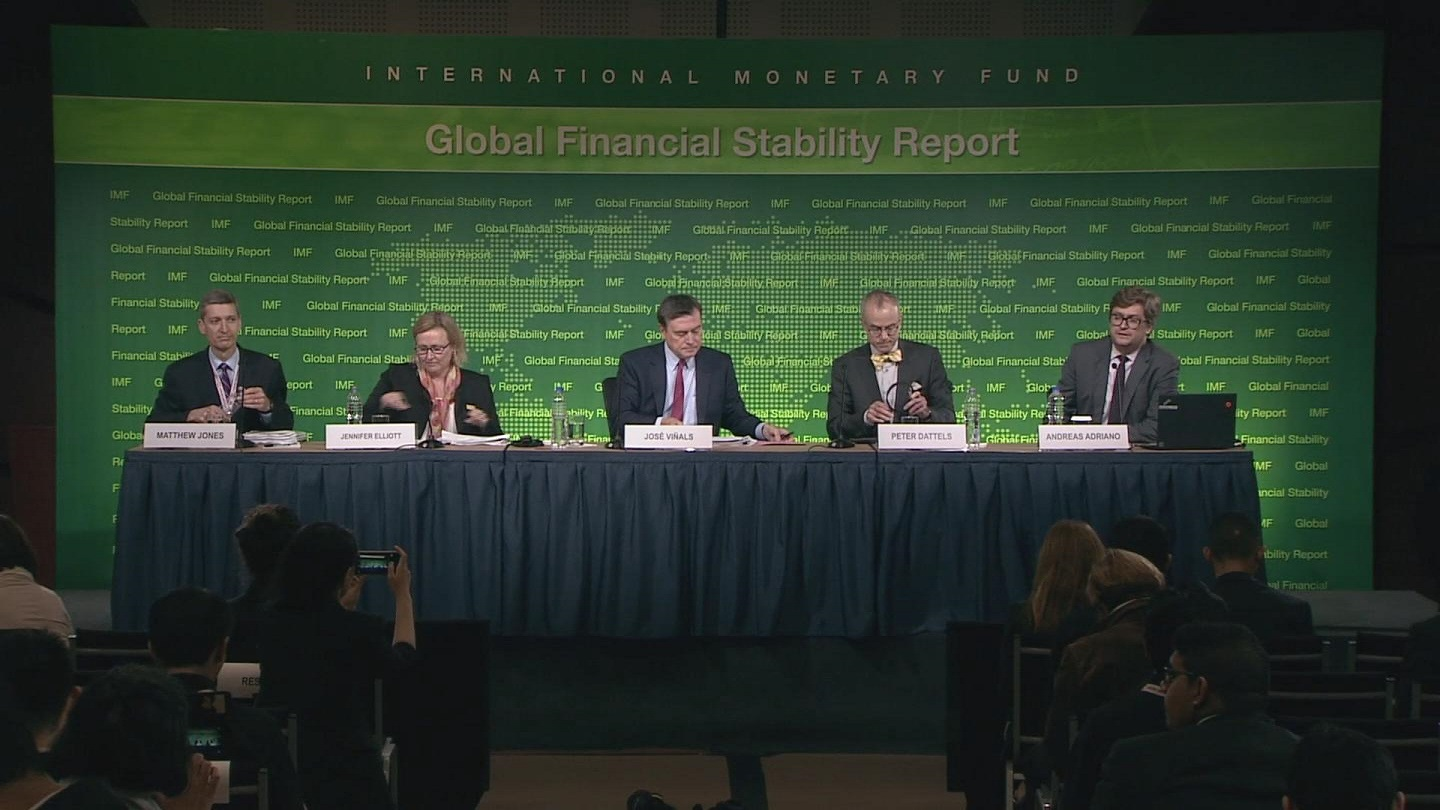 Selected frame from video story PERU / IMF PRESSER
