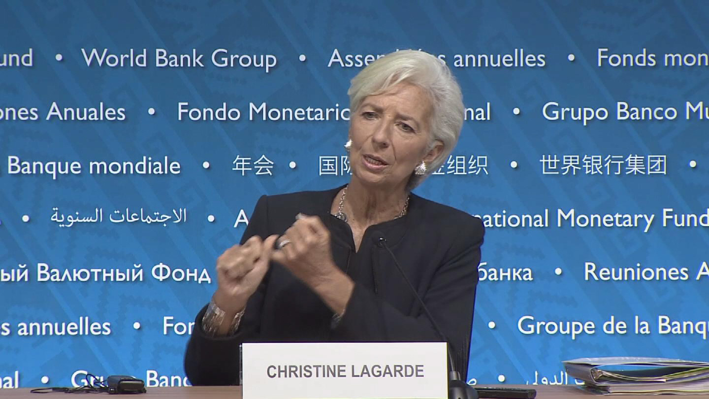 Selected frame from video story PERU / LAGARDE PRESSER