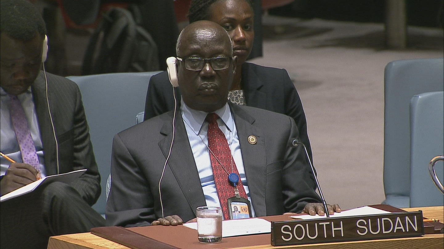 Selected frame from video story UN / SOUTH SUDAN