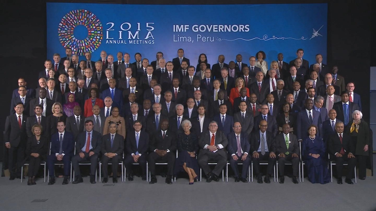 Selected frame from video story PERU / IMF FAMILY PHOTO