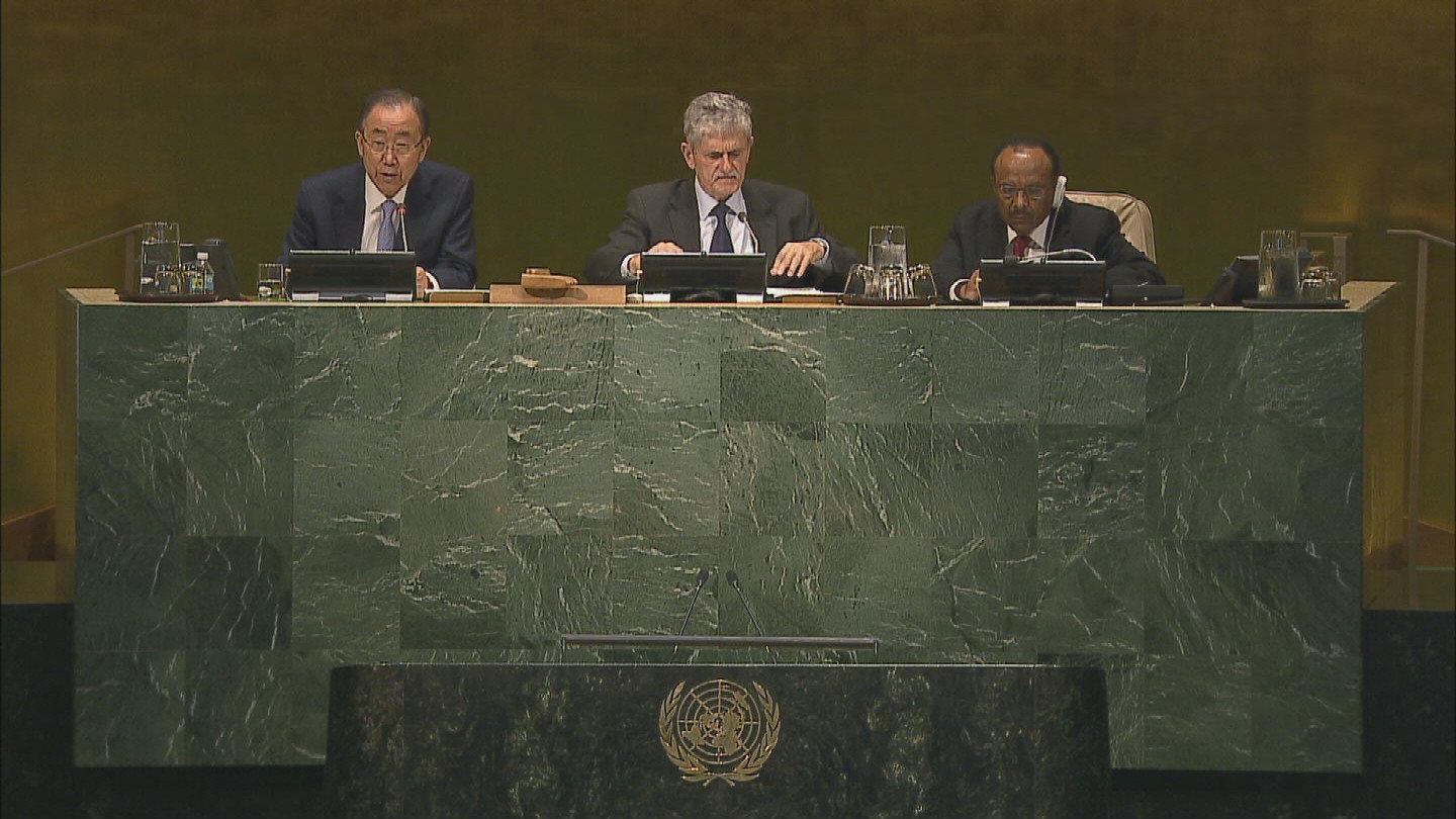 UN / BAN ON PEACE OPERATIONS