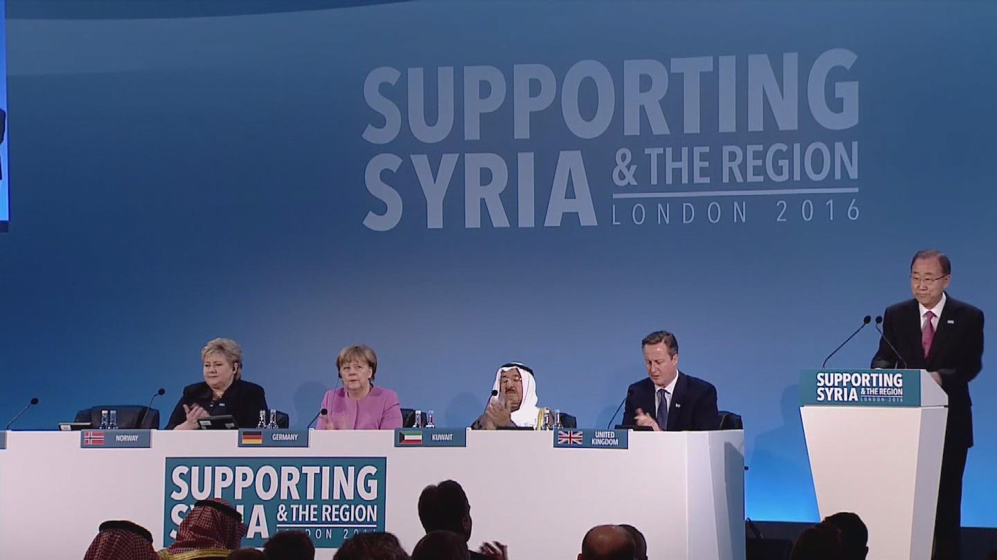 LONDON / SYRIA DONORS CONFERENCE WRAP