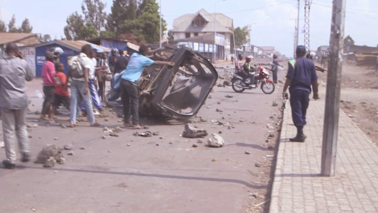 DRC / GOMA PROTESTS