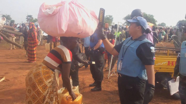 SOUTH SUDAN / WAU DISPLACED