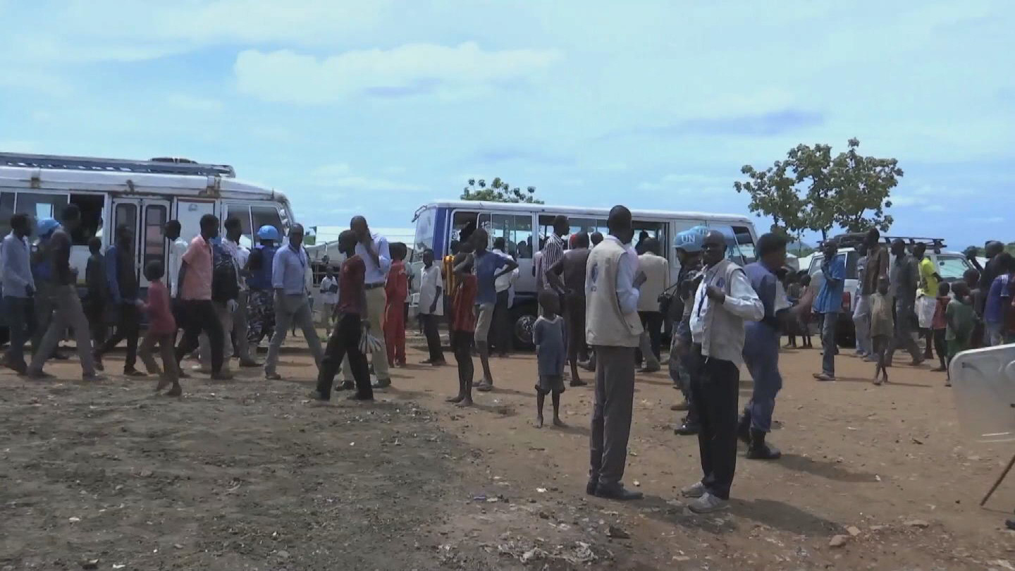 SOUTH SUDAN / DISPLACED RELOCATION