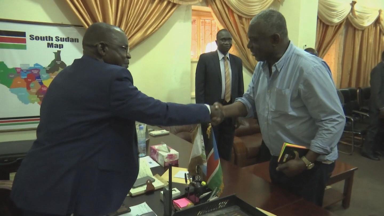 SOUTH SUDAN / OWUSU VISIT