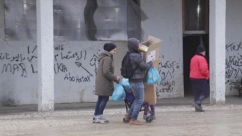 GREECE / REFUGEE CHILDREN WINTER