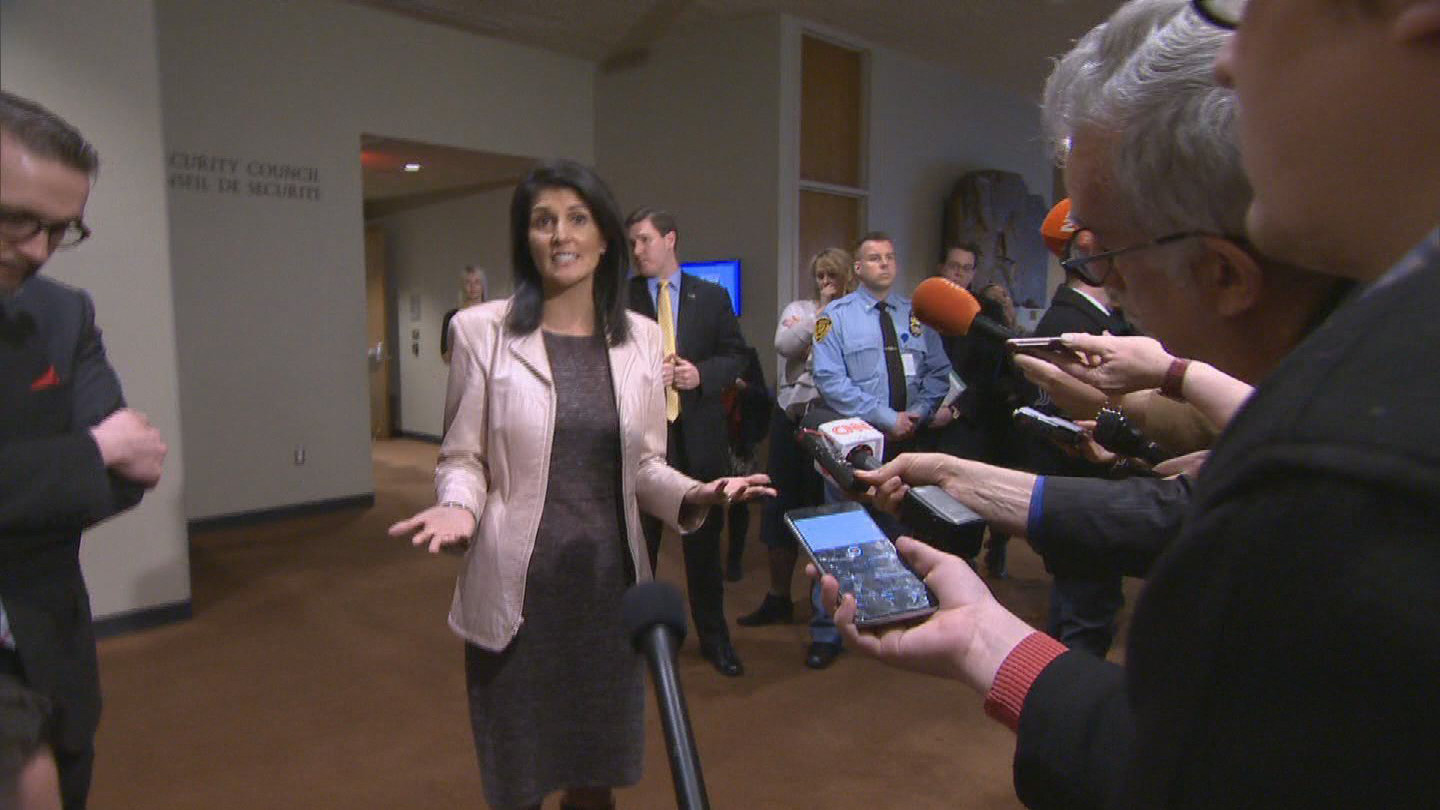 UN  HALEY IRAN