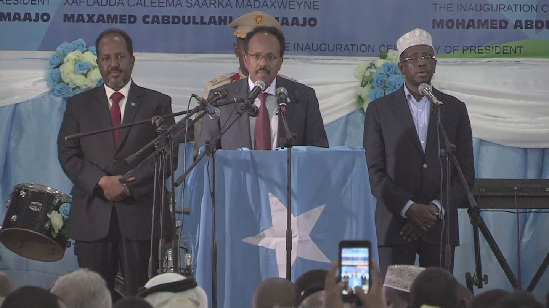 SOMALIA / PRESIDENT FARMAAJO INAUGURATION