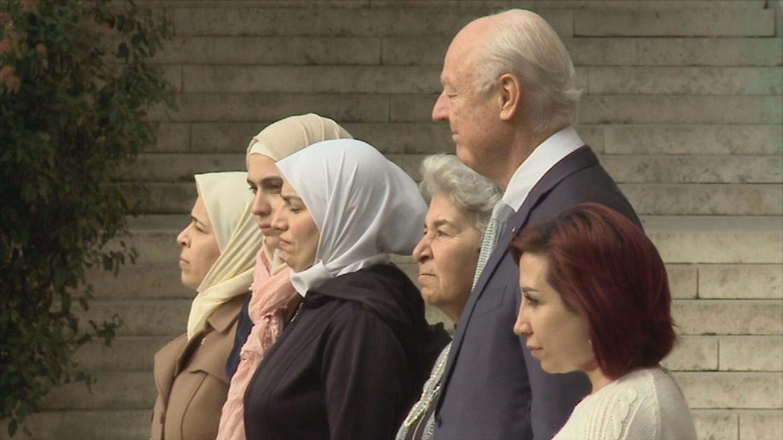 GENEVA / DE MISTURA SYRIAN WOMEN