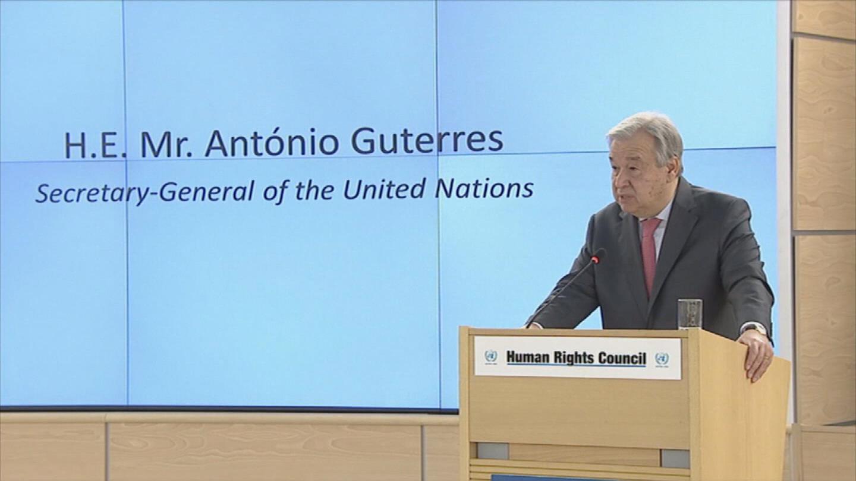 GENEVA / HUMAN RIGHTS COUNCIL OPENING