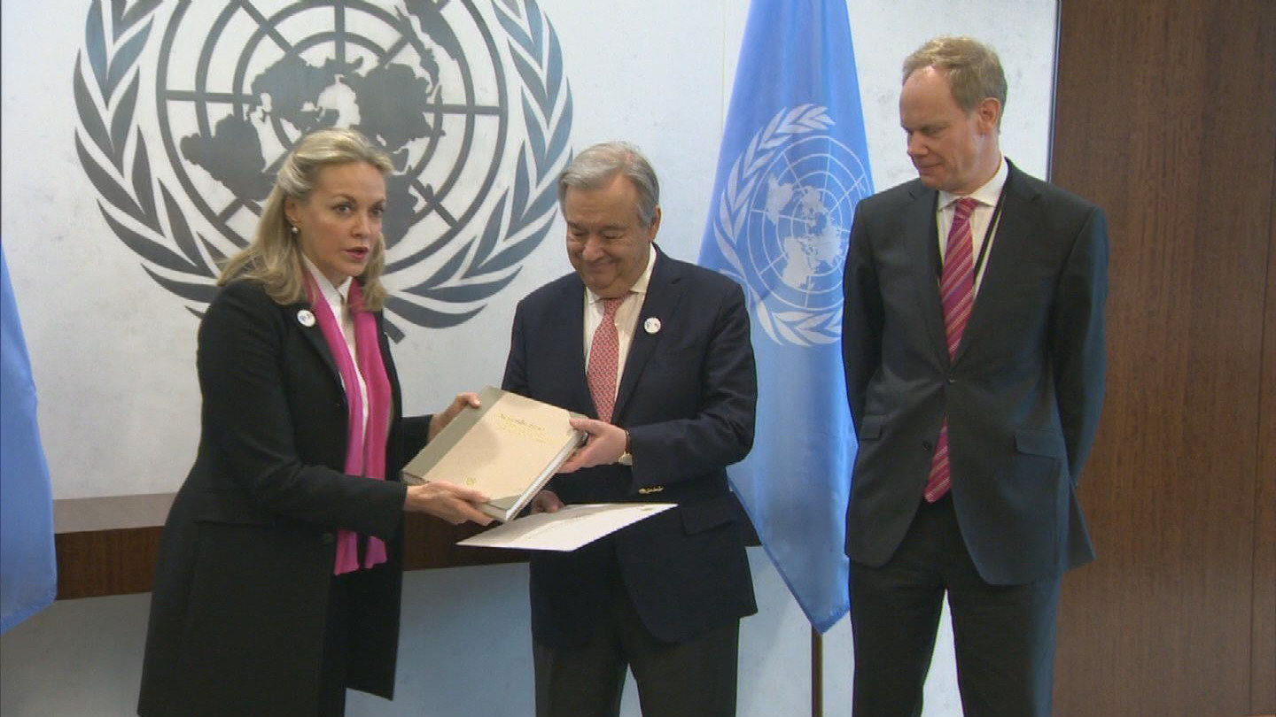 UN / COLOMBIA PEACE AGREEMENT