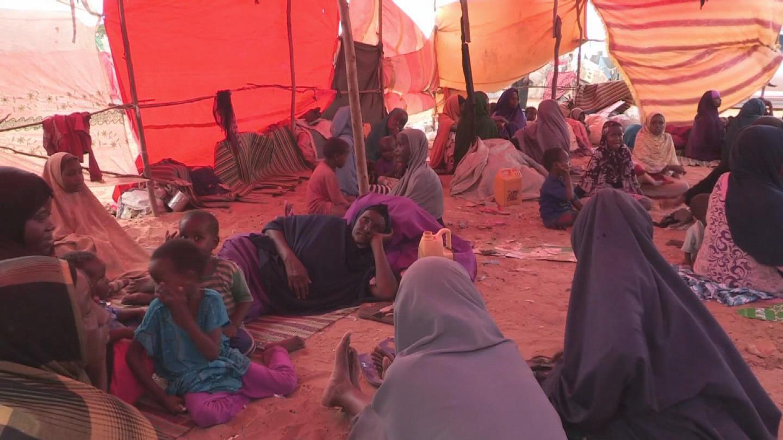 SOMALIA / DROUGHT DISPLACED