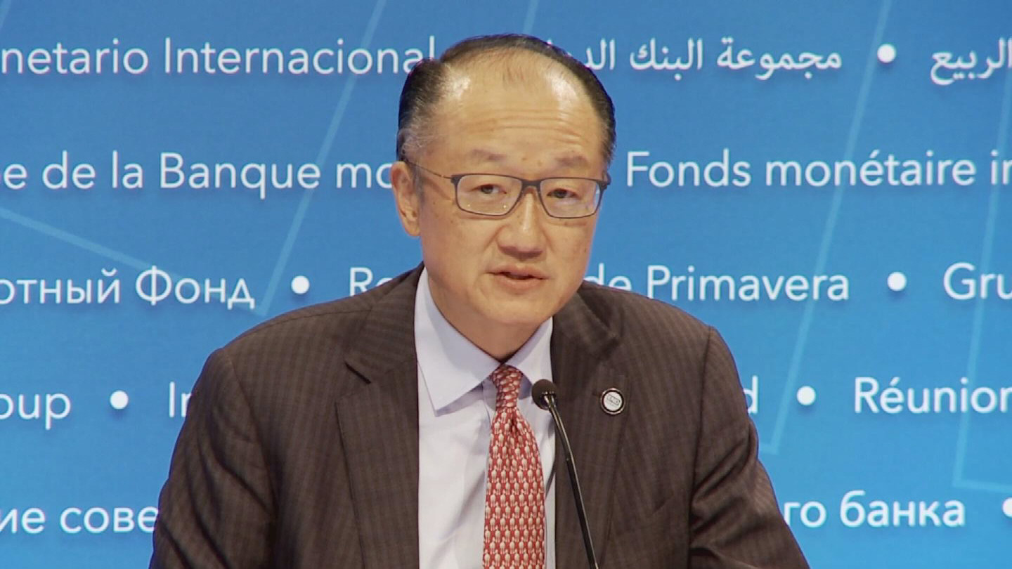 WORLD BANK/ JIM KIM PRESSER