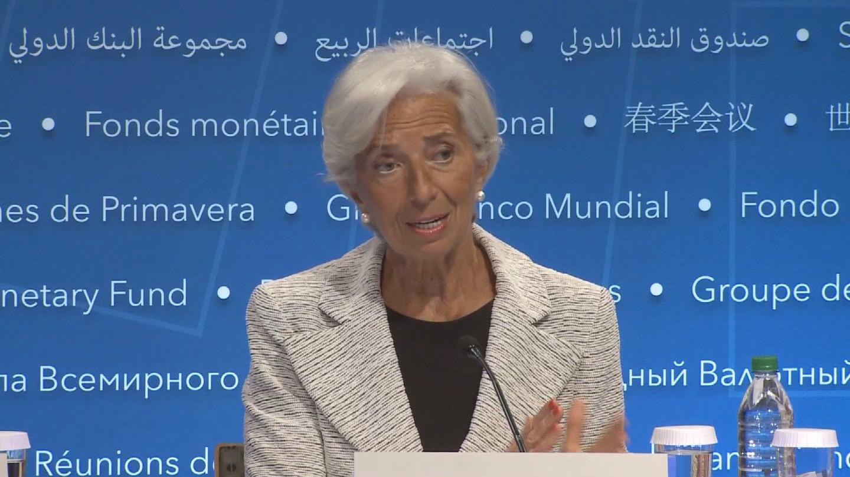 IMF / LAGARDE PRESSER