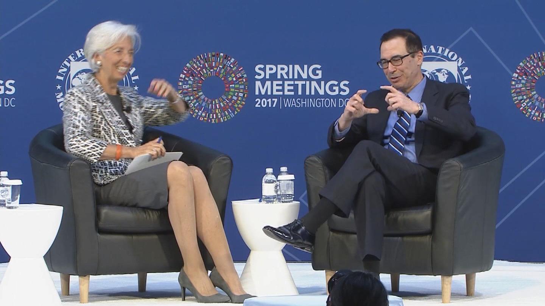 IMF / LAGARDE MNUCHIN