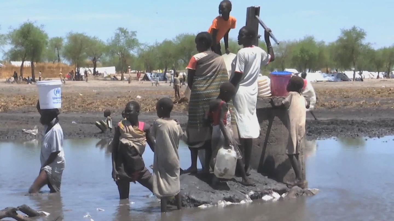 SOUTH SUDAN / CLEAN WATER SHORTAGE