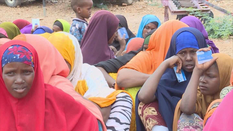 SOMALIA  DROUGHT DISPLACED