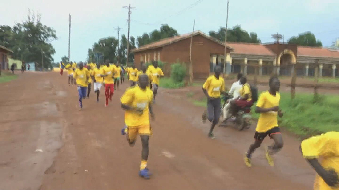 SOUTH SUDAN / RUNNING FOR PEACE