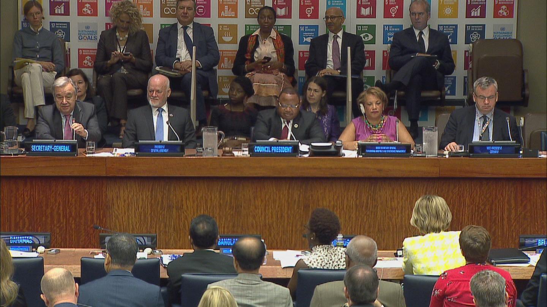 UN  SDGS PROGRESS REPORT