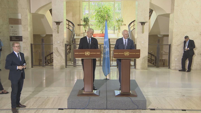 GENEVA / SYRIA STAKEOUT