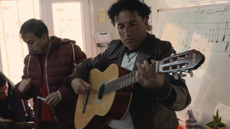 GREECE / SYRIAN REFUGEE MUSICIAN