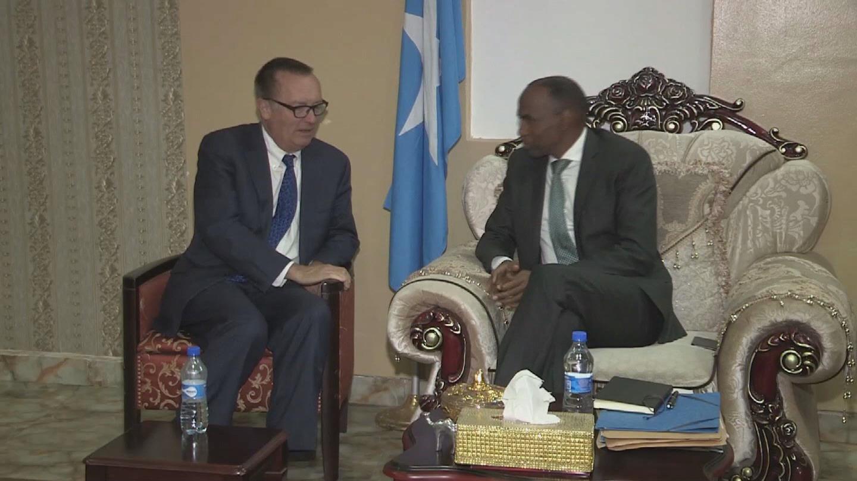 SOMALIA  FELTMAN VISIT