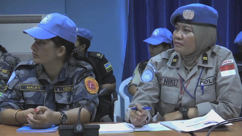SOUTH SUDAN / WOMEN UN POLICE