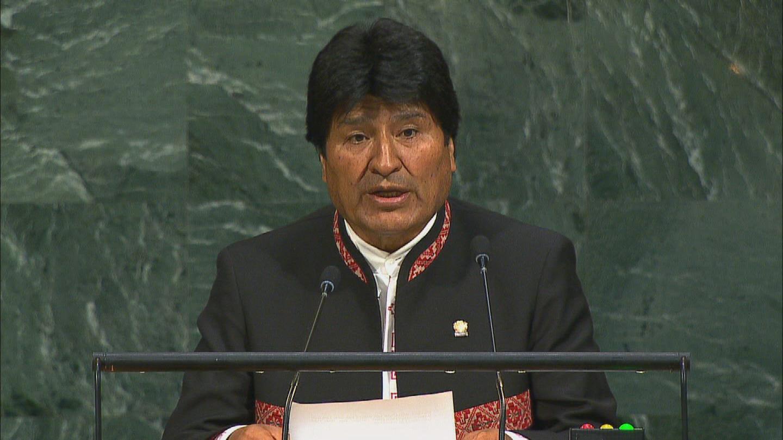 UN / BOLIVIA EVO MORALES