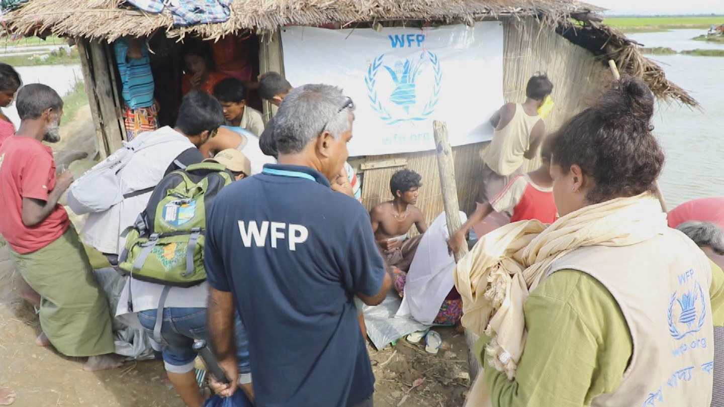 WFP / ROHINGYA FOOD DISTRIBUTION